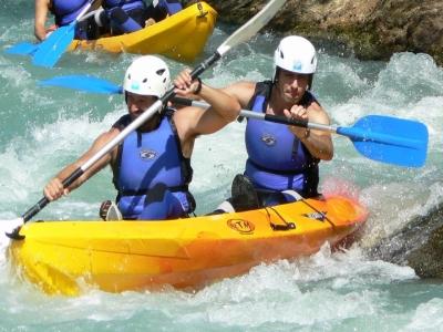 Descenso en canoa río Gállego 3 horas