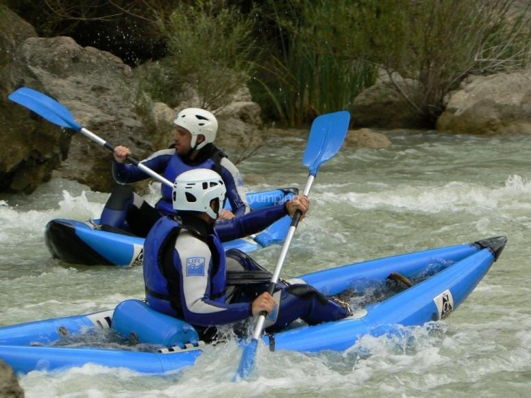 Individual canoe trip