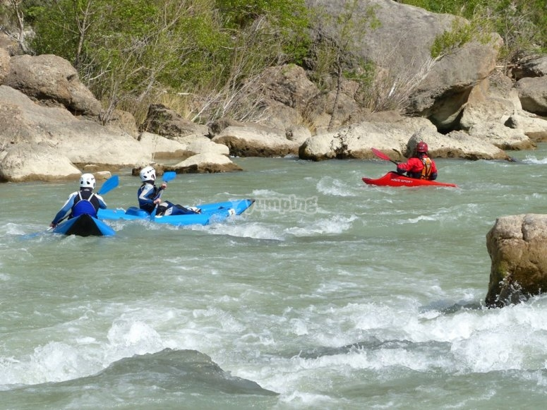 Open Kayak guided activity
