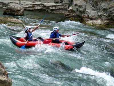 Descenso Open Kayak o Canoraft Murillo de Gállego