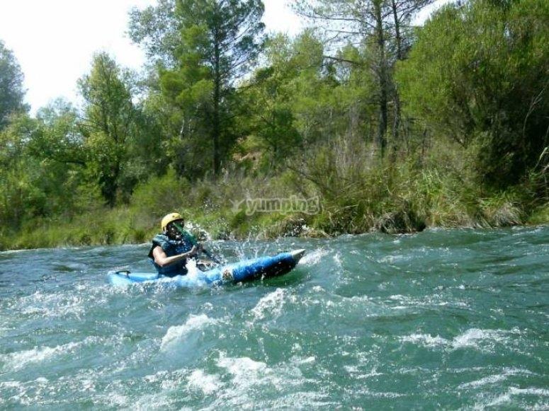 Actividad en el río