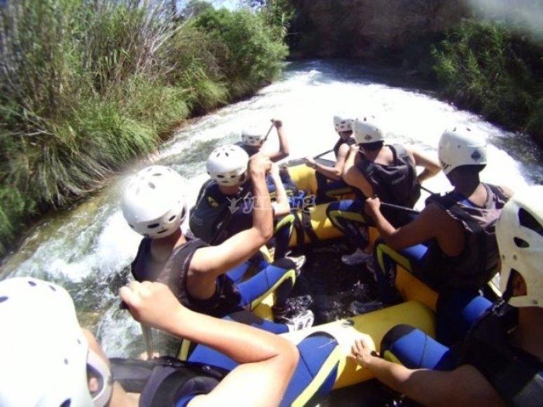 En el raft