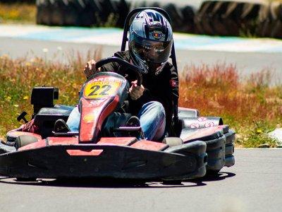 Gran Premio karting 26 min + parrillada. Salamanca