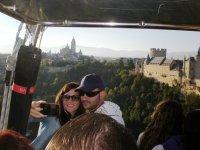 Ascendiendo sobre Segovia