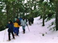 Excursión con raquetas para nieve