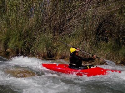 Descenso del río Cabriel en piragua 2 horas