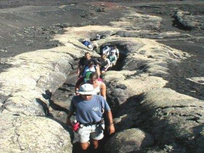 Senderismo por paisaje lunar, Lanzarote, 5h, Niños