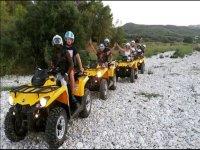 Sobre los quads en los caminos de Gandía