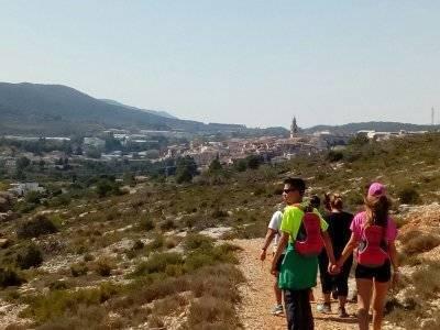 在Barranc dels Tarongers徒步旅行