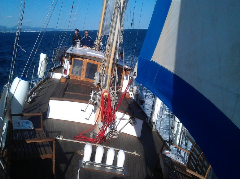 Sailing with favourable winds