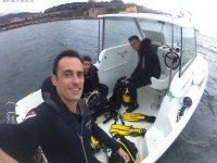Salida en barco de buceo