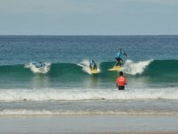 Surfeando en Corralejo