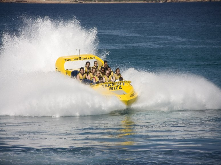 Prueba la velocidad del Jet Boat