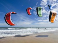 Kitesurf en grupo