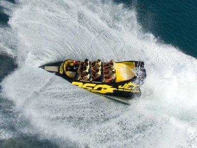 游览喷射船360º日落,伊维萨岛海岸