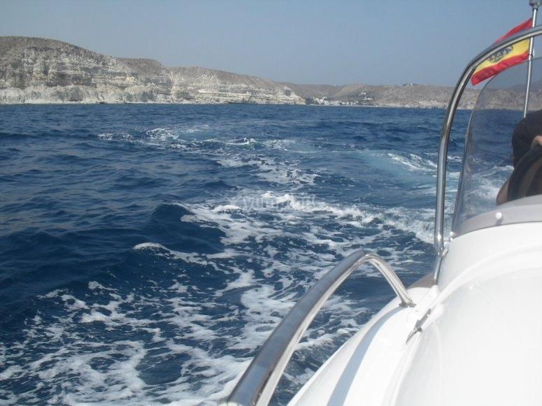 Navegando a toda velocidad