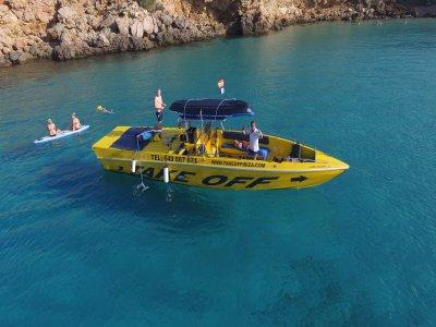Excursión en barco en Ibiza con puesta de sol