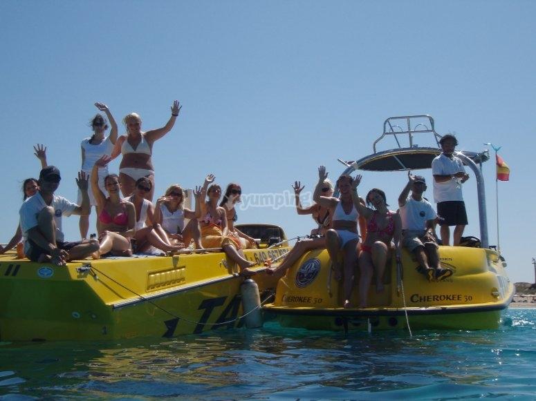 Navega por Ibiza en barco