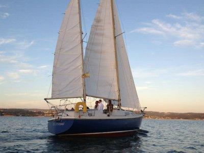 Despedida de soltero en velero en Sada 4 horas