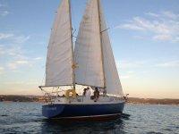 Sailing Boat Bachelor Party, Sada 4h