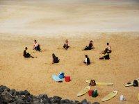 Clases en la arena