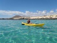 Kayak in Corralejo