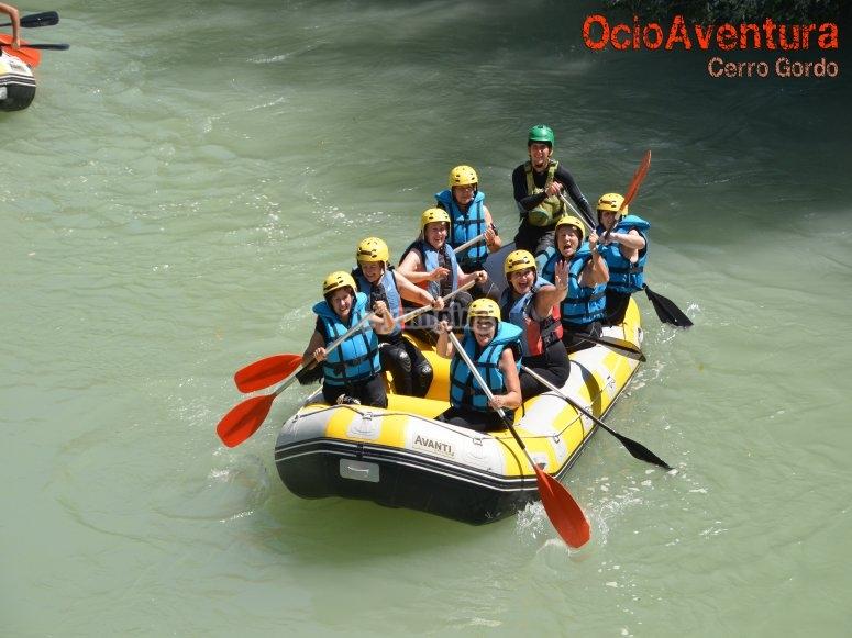 Rafting todas las edades