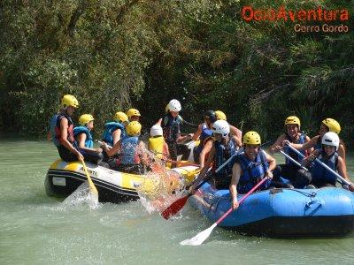 Rafting Familiar en el río Genil, Cuevas Bajas