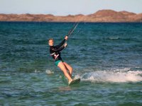 Wakeboarding on the island
