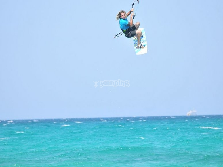 Intensivo de 3 horas de kitesurf