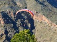 Sobrevolando el Cabo de Gata