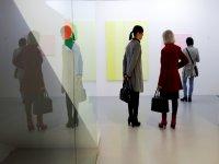 En la exposición de arte contemporáneo