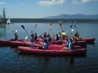 canoeing departure