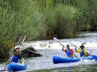 abbiamo canoe a due mari