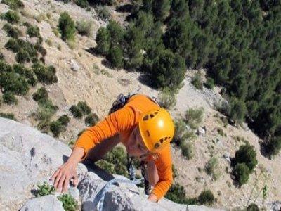 Initiation to sport climbing 2 days Málaga