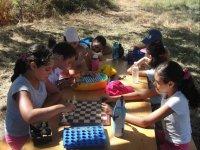 Juegos de mesa al aire libre