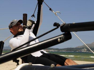 Corso di iniziazione in catamarano per bambini Wall 4h