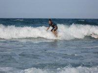 Cattura di un'onda