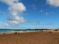 La playa de Corralejo