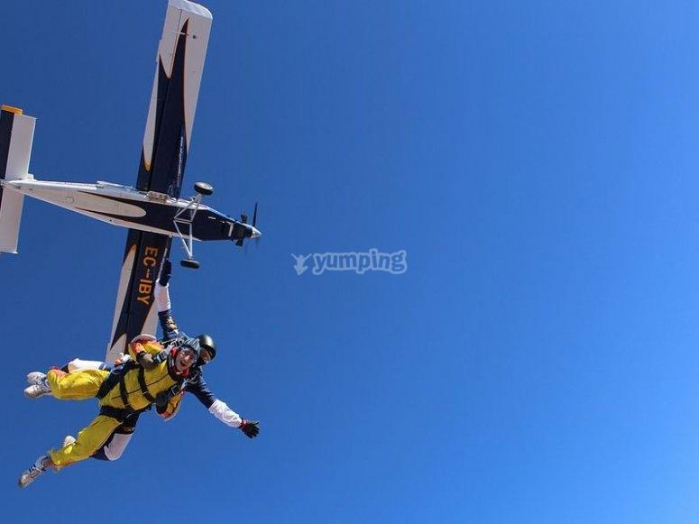 Testa a paracadute autonomamente