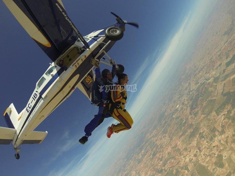 Momento preciso del salto