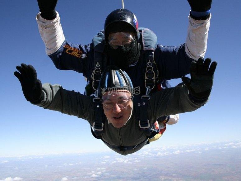 Corso di paracadute pieghevole