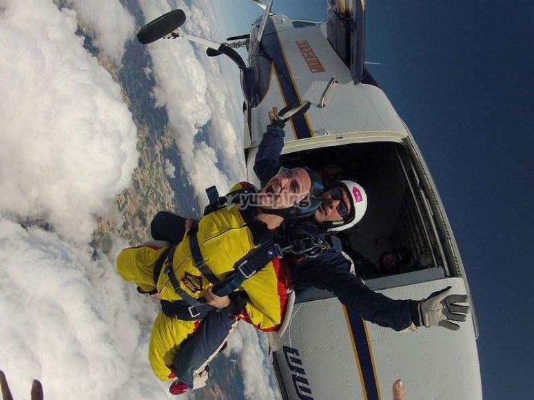 Saber plegar el paracaídas es muy importante