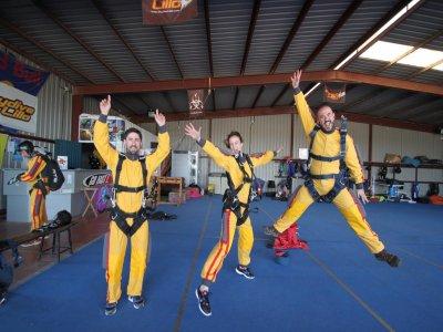 Curso de plegado de paracaídas principal, Lillo