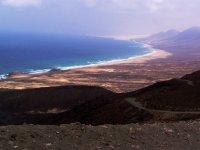 Caminos de tierra por las montañas de Fuerteventura