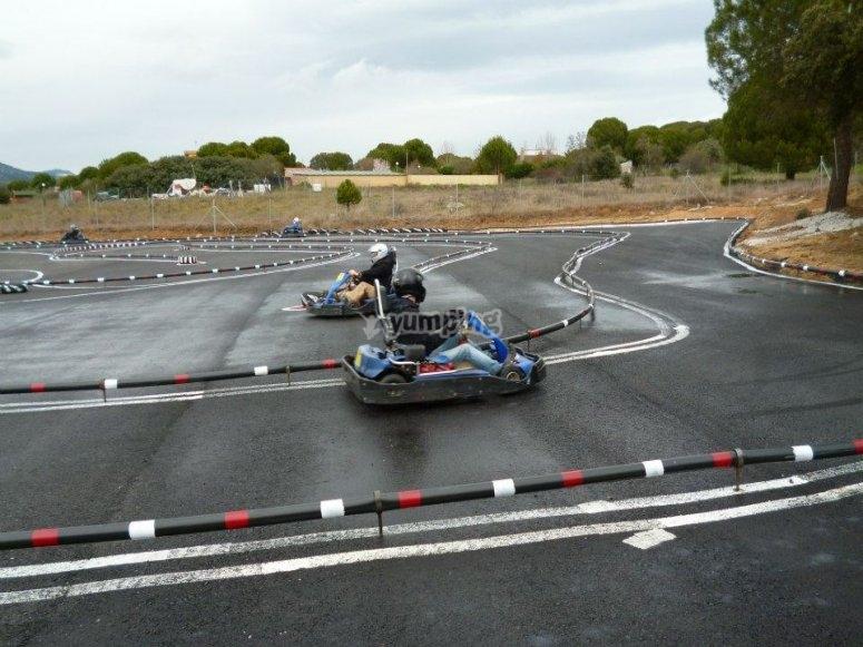 Circuito de karting en Almorox
