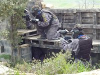 Paintball con 100 bolas + Karting, en Almorox