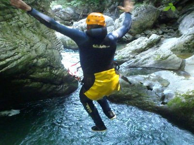 Canyoning + canoeing in the Sella in Llanes