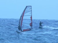 Going ahead to a windsurfer!