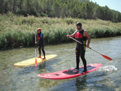Paddle Surf River Cabriel,河SUP,2小时